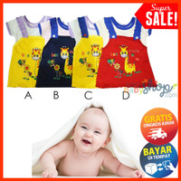 Dress Bayi Motif Bee Flower Fashion Bayi Cewek Baby Girl COD