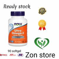 Now Foods Ultra Omega 3 500 EPA / 250 DHA - 90 Softgel