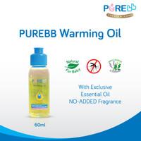 OKE PURE BB Warming Oil - Minyak Telon Bayi 60 ml