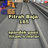 ATAP SPANDEK/SEPANDEK PASIR HITAM 4 METER