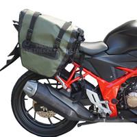 Side Bag Motor Thetrekkers Type SBM01 Waterproof |Bahan PVC Terbaik