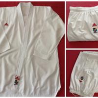 baju karate, Dogi kumite adidas polos, bukan arawaza, tokaido, muvon