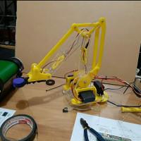 Robot Arm Case for Arduino, AVR, Raspberry Pi, Rangka Robot Arm