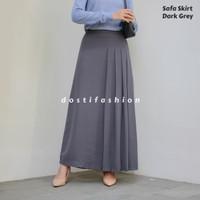Safa Skirt / Rok Wanita Big size Bahan Torino Premium Tebal
