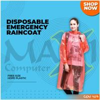 Mantel Plastik / Jas Hujan Plastik
