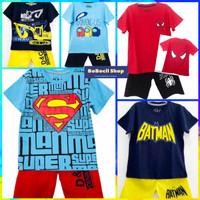 Baju Anak Laki Laki / Kaos Anak Laki Laki / Setelan Anak Laki Laki 3 - Motif B, 1 Tahun