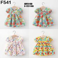 dress anak motif bunga colorfull / baju anak /dress anak - 1-2 tahun
