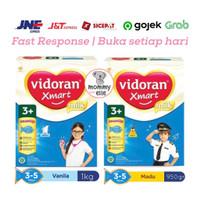 Vidoran Xmart 3+ Vanilla Madu 1000 gram 950 gram, 1 kilo, 1Kg Imun Up