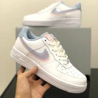 Sepatu Nike Air Force 1 Low White Light Blue Pink