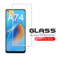 Tempered Glass Layar Clear Oppo A74 - 4G Screen Protector Handphone