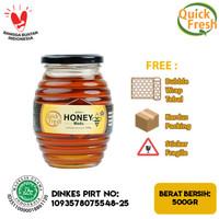 Quick Fresh Honey Madu 500 gram (Jar)