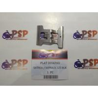 PLAT PENAHAN KAMPAS CAKRAM/ DISKPAD - SATRIA FU / SUPRA X 125 BELAKANG