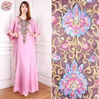 baju gamis kaftan wanita muslim terbaru | kaftan Diandra