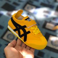 Sepatu Sneakers Anak Asics Onitsukaa Perekat Tali Yellow Size 21-35 - 21