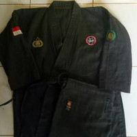 Karategi tegi dogi baju Karate costum spesial Polri trimantra Polisi