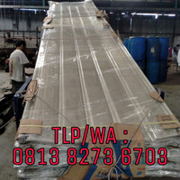 atap fiber transparan, atap transparan,atap fiberglass