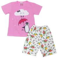 2-13 Tahun / Piyama Anak / Baju Tidur Anak Perempuan / SGBD01 - LOL Loreng, 8