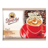 Kopi Putih Kapal Api White Coffee Mix 3 In 1 kemasan sachet 37gr