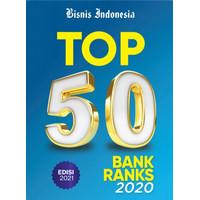 Majalah Top 50 Bank Ranks 2020