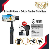 Brica B-Steady 3-Axis Gimbal Stabilizer For mobile
