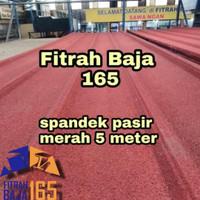 ATAP SPANDEK/SEPANDEK PASIR MERAH 5 METER