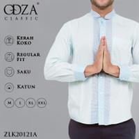 Odza Classic Baju Koko Kemeja Lengan Panjang REGULAR FIT Jeddah - L