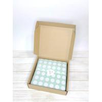 Lucky Clover Wrapping Paper (50 lembar)  kertas tissue bungkus kado 