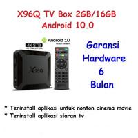 Hiplay X96Q 4K 30fps 2GB + 16GB Android 10.0 TV Box