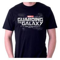 Kaos Rohani - TShirt - Guarding Galaxy - Hitam, L