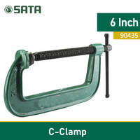 PENJEPIT C CLAMP 6 inch 90435 SATA TOOLS