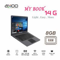 Axioo Mybook 14G Intel N4020 Ram 8GB Sdd 256GB 14 FHD