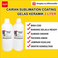 Paket Cairan Sublimation Cairan Coating Mug Gelas Keramik + THINNER