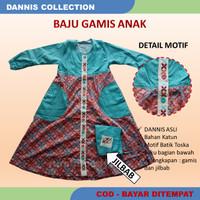 Setelan Anak DANNIS size 1 - Gamis/Jubah - Baju Busana Muslim