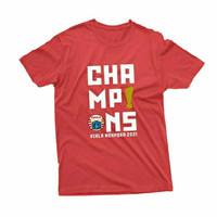 T-shirt Kaos Distro PERSIJA CHAMPIONS PIALA MENPORA 2021