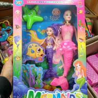 Mainan mermaids ijs B753 - mainan boneka barbie putri duyung