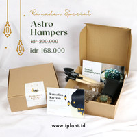 Parsel Ramadan / Hampers Lebaran Kaktus Astrophytum Tanpa Duri