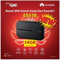 Mifi Modem Wifi4G Huawei E 5573 XL Go Free 60Gb 60Hari BEST