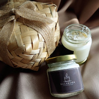 Lily-Lilin Aromatherapy/Scented Candles - Black