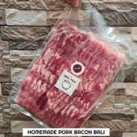 PORK BACON HOMEMADE BALI / Bacon Babi Asap Bali
