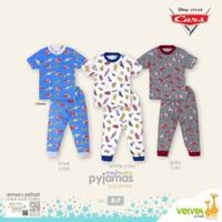 VELVET JUNIOR Piyama Lengan Pendek - Baju Tidur Anak 4 Tahun (BOY)