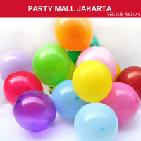 Balon latex doff balon karet doff warna warni ukr 12 inch (1 PCS)