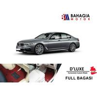 Karpet Mobil Premium D'Luxe by Comfort BMW G30 SERI 5 Full Bagasi