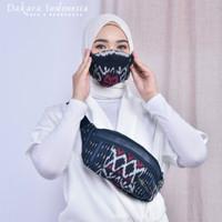 Waist Bag Etnik + Masker Unisex Dakara Indonesia