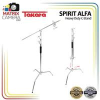 Takara Spirit Alfa Heavy Duty C-Stand Lighstand Light Stand Tripod