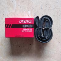 ban dalam sepeda 700 x 35/43c kenda pentil kecil/presta fv 60mm