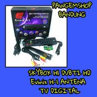 SKYBOX H1 DVBT2 HD Skybox H-1 EVINIX antena TV digital