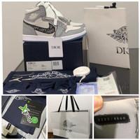 Sepatu Nike Dr X Air Jordan HG PK.ORI Guarantee Store - Abu-abu, 40