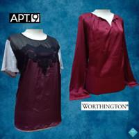 Baju Wanita / Blouse Formal Branded WORTHINGTON & APT.9