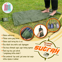 SAJADAH SAKU LIPAT TRAVEL WATERPROOF PLUS SUTRAH - Hijau Army