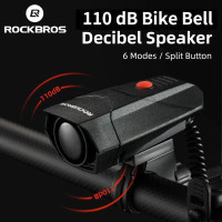 Bell Elektronik Horns Rockbros - Klakson Bel Listrik MTB Roadbike